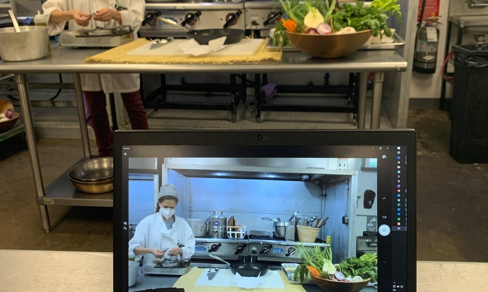 Zoom Cooking Class